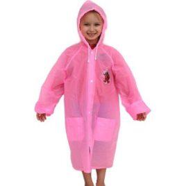 Dětská pláštěnka růžová